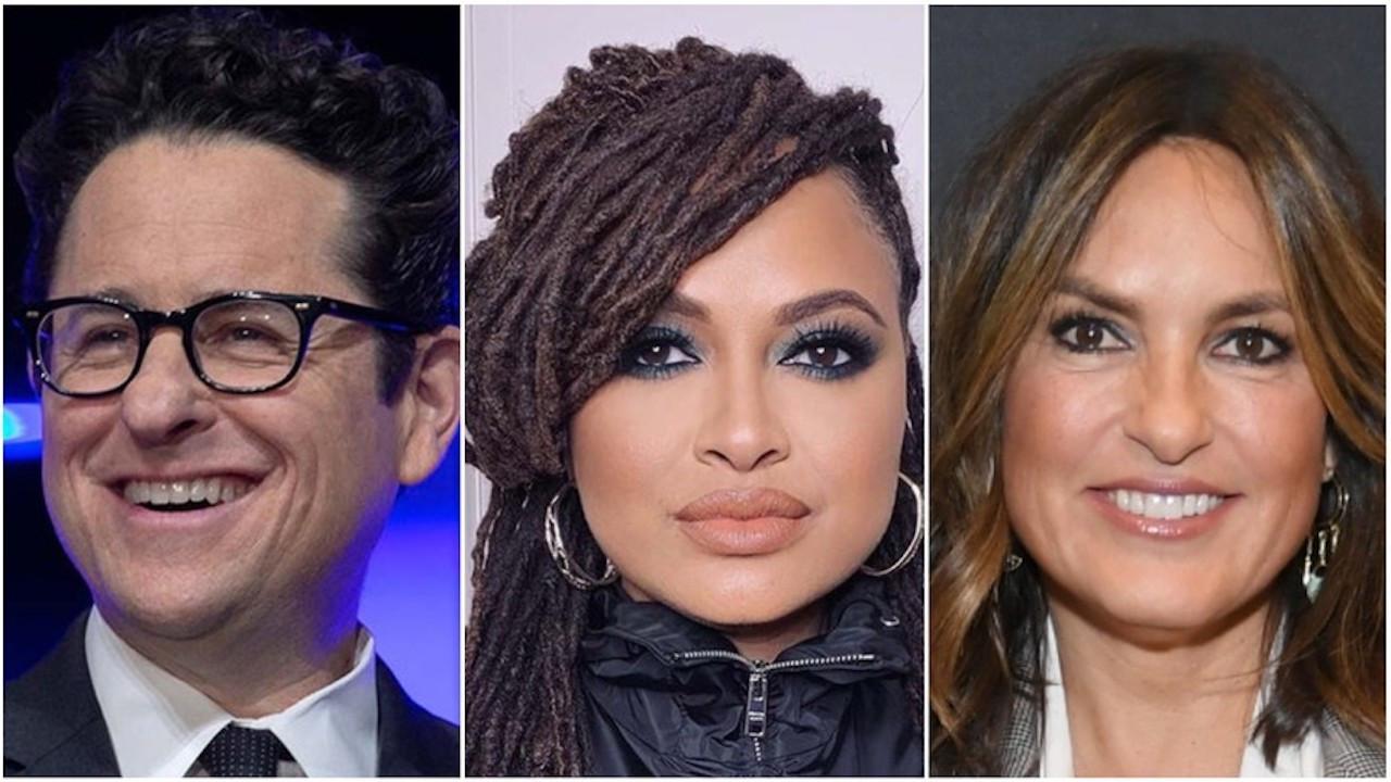 J.J. Abrams, Ava DuVernay, Mariska Hargitay & More Protest NBC's Trump Town Hall | THR News