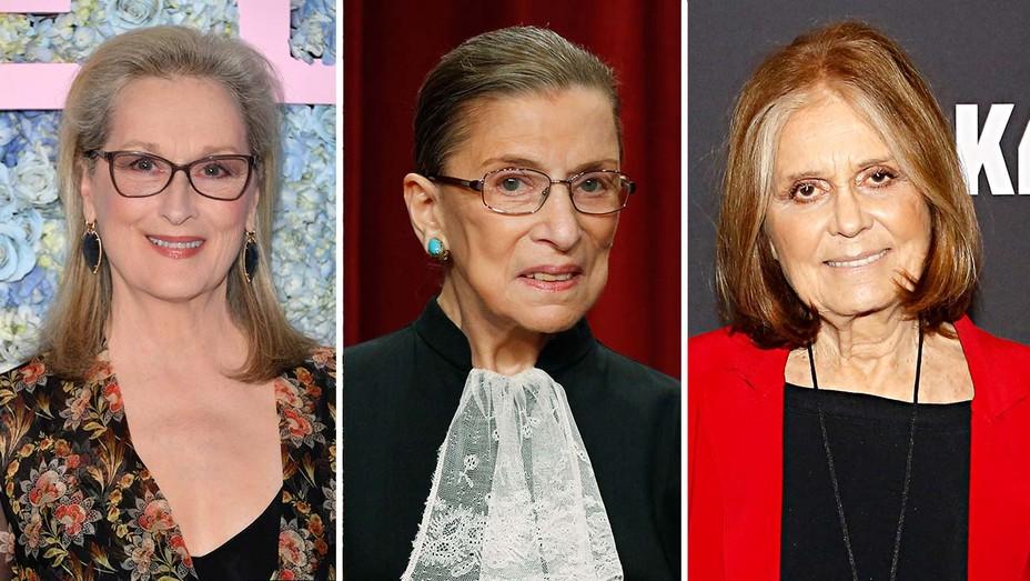 Meryl Streep RBG Gloria Steinem