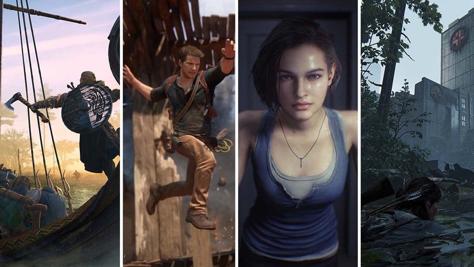 Assassins Creed Uncharted Resident Evil The Last of Us