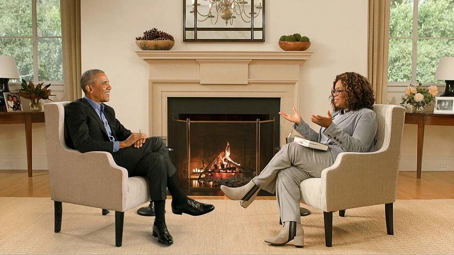 Barack Obama speaks with Oprah Winfrey on 'The Oprah Conversation'