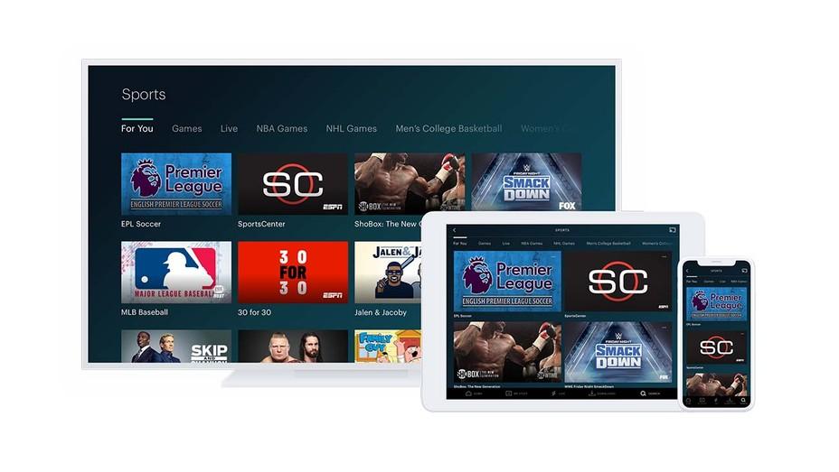 Hulu Browse - Sports