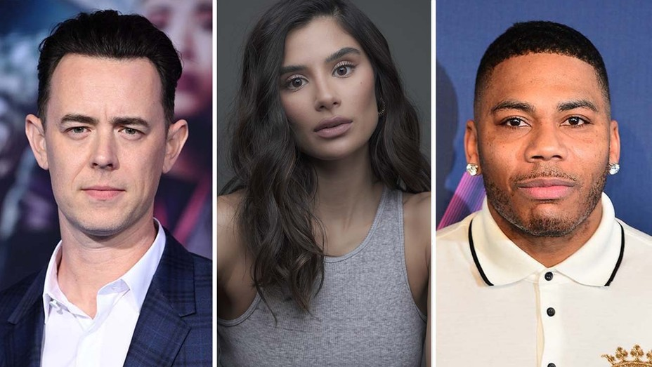 Colin Hanks, Diane Guerrero, and Nelly