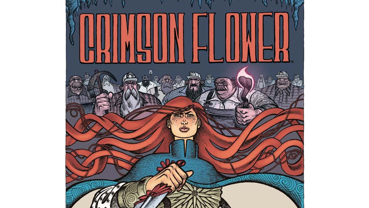 Russian-Inspired Comic 'Crimson Flower' Debuts Trailer