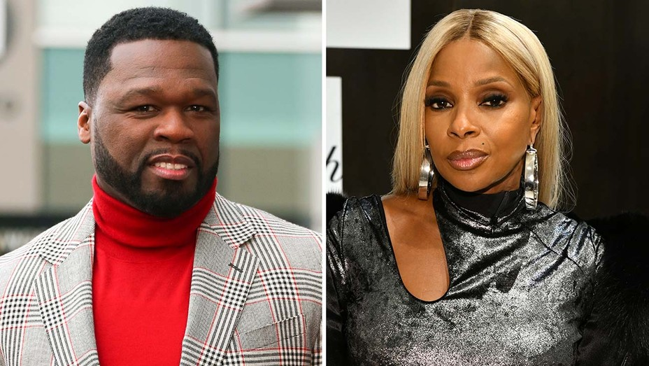 "Curtis ""50 Cent"" Jackson and Mary J. Blige"