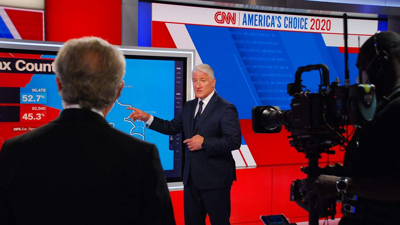 Critics' Conversation: Election Night Coverage Struggled to Capture the Gravity of the Moment