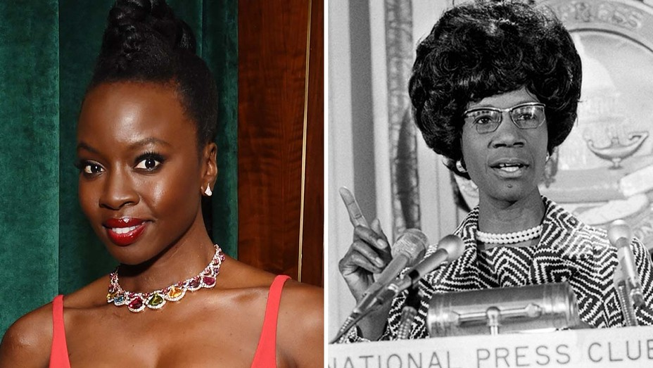 Danai Gurira and Shirley Chisholm