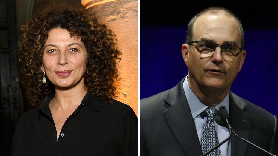 Donna Langley and Mark Zoradi