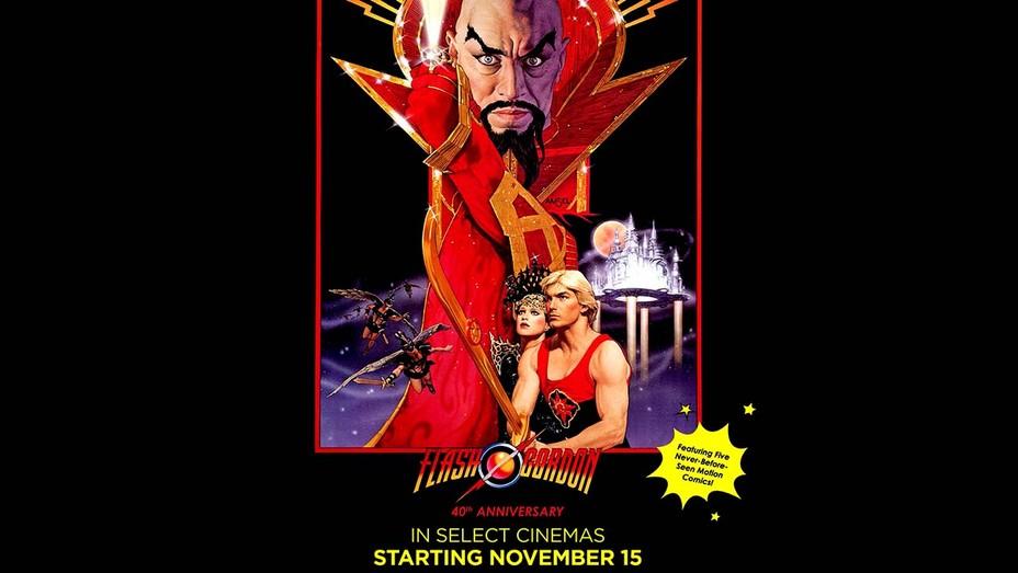 Flash Gordon 40th Anniversary Poster