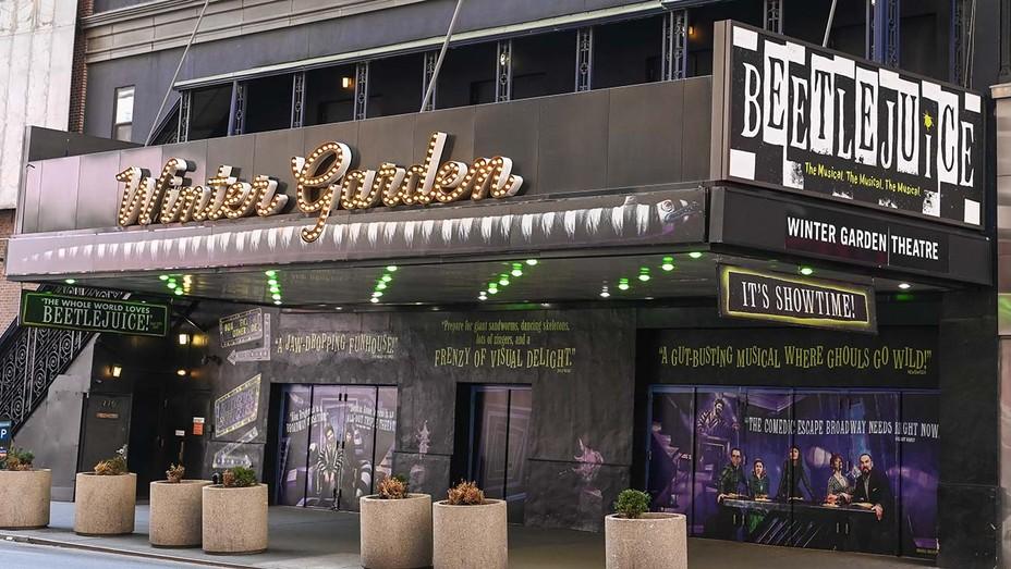 The Winter Garden Theatre in New York