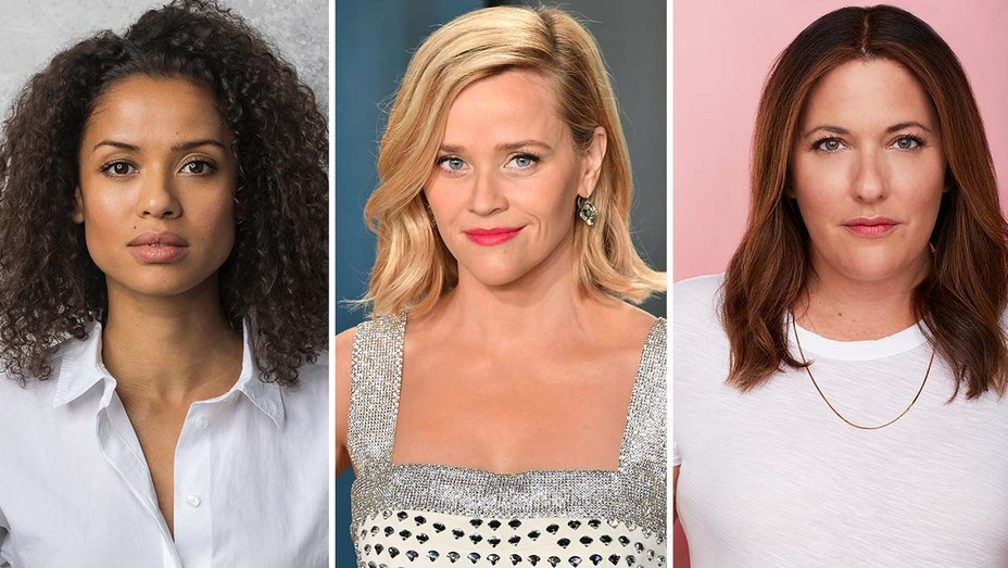 Gugu Mbatha Raw, Reese Witherspoon and Veronica West