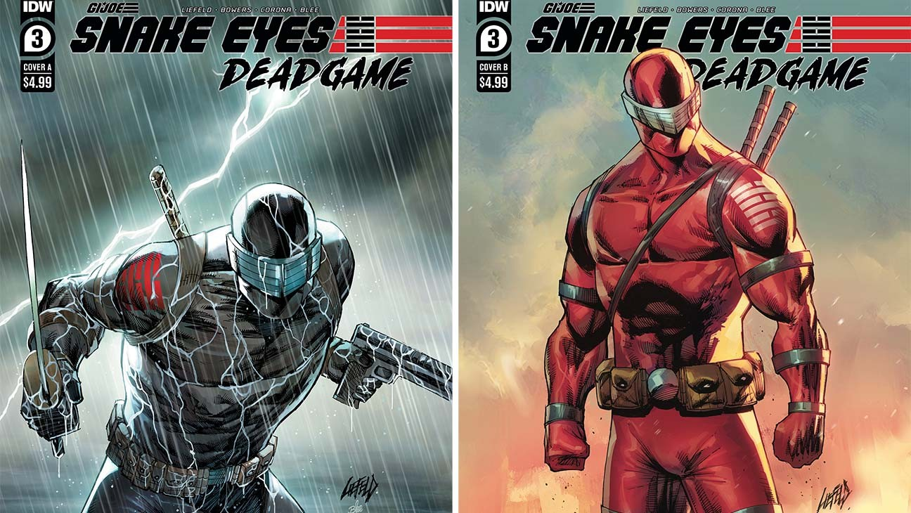 Rob Liefeld on 'Snake Eyes' and His 'Deadpool 3' Reaction