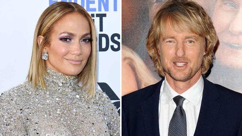 Jennifer Lopez and Owen Wilson