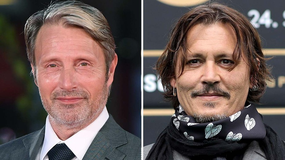 Mads Mikkelsen and Johnny Depp