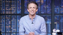 """Seth Meyers Takes On Trump's """"Meaningless and Lie-Filled"""" Farewell Message: """"You Left the Nation in Ruins"""""""