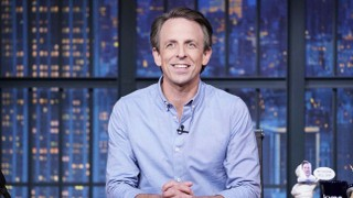 "Seth Meyers Takes On Trump's ""Meaningless and Lie-Filled"" Farewell Message: ""You Left the Nation in Ruins"""