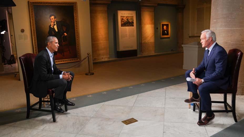 Barack Obama on '60 Minutes'