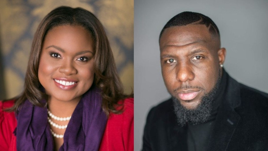 Our Black Party founders Candace Hollingsworth and Dr. Wes Bellamy.