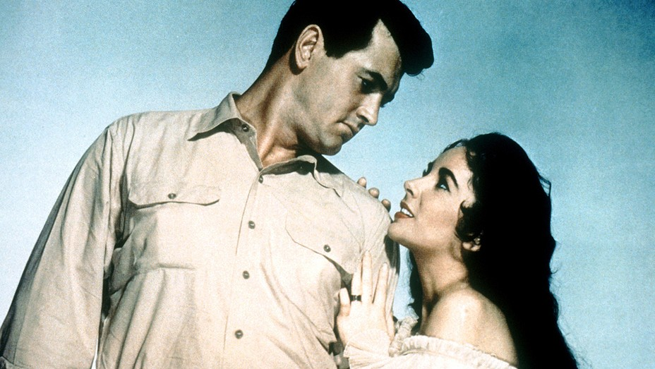 Rock Hudson and Elizabeth Taylor in 'Giant'