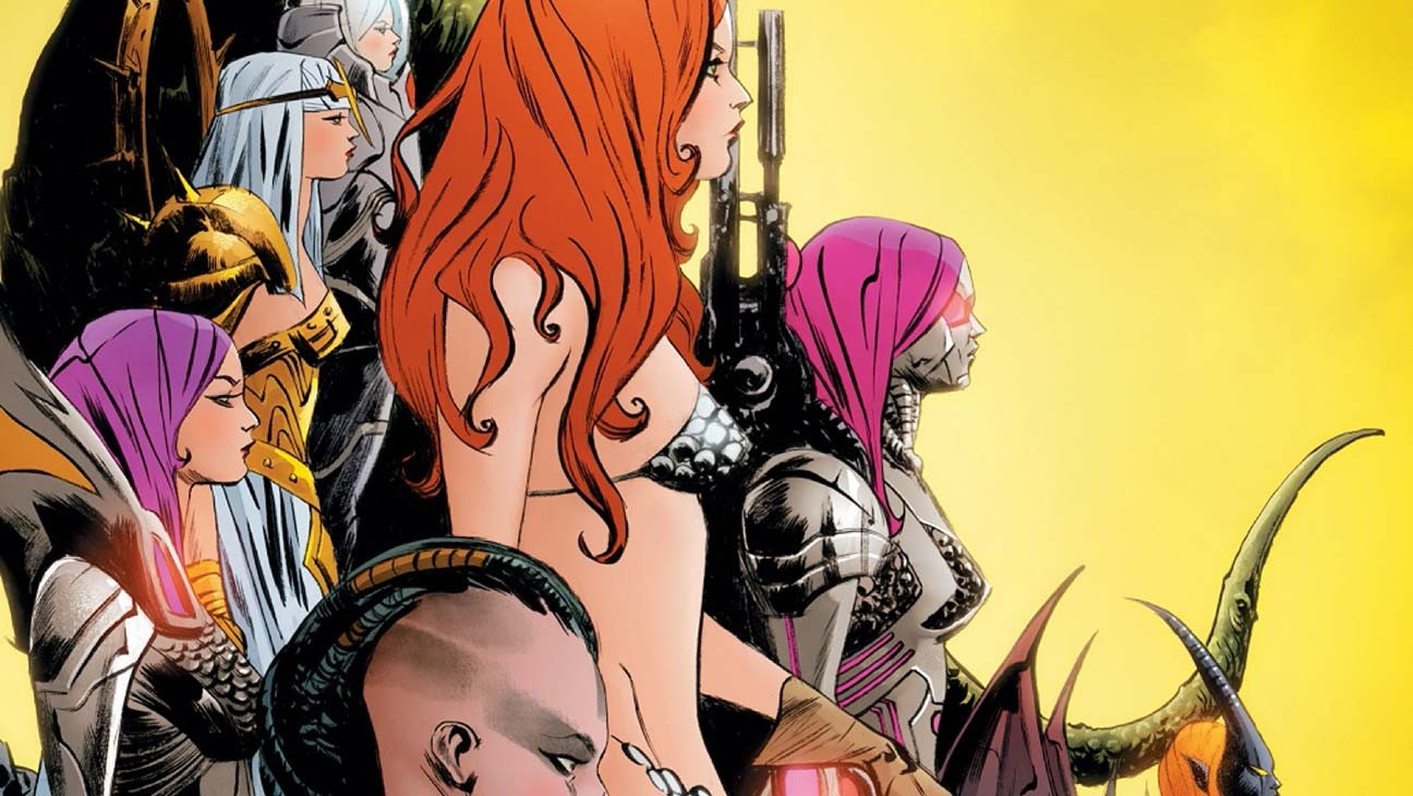 'Sonjaversal' Takes Red Sonja Into the Multiverse