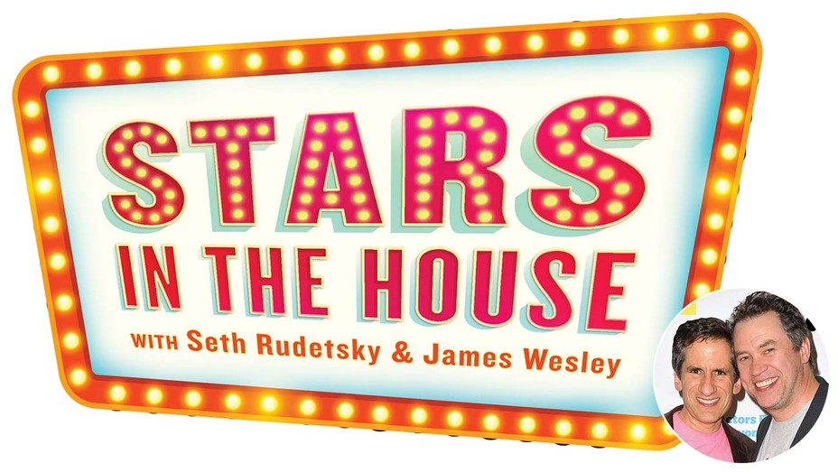 Stars-in-the-house logo -and-inset-of-Seth-Rudetsky-and-James-Wesley
