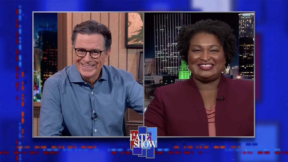 Stacey Abrams on 'The Late Show With Stephen Colbert'