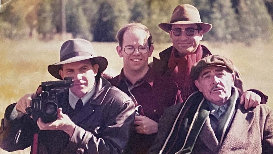 On the set of 'Untouchables'