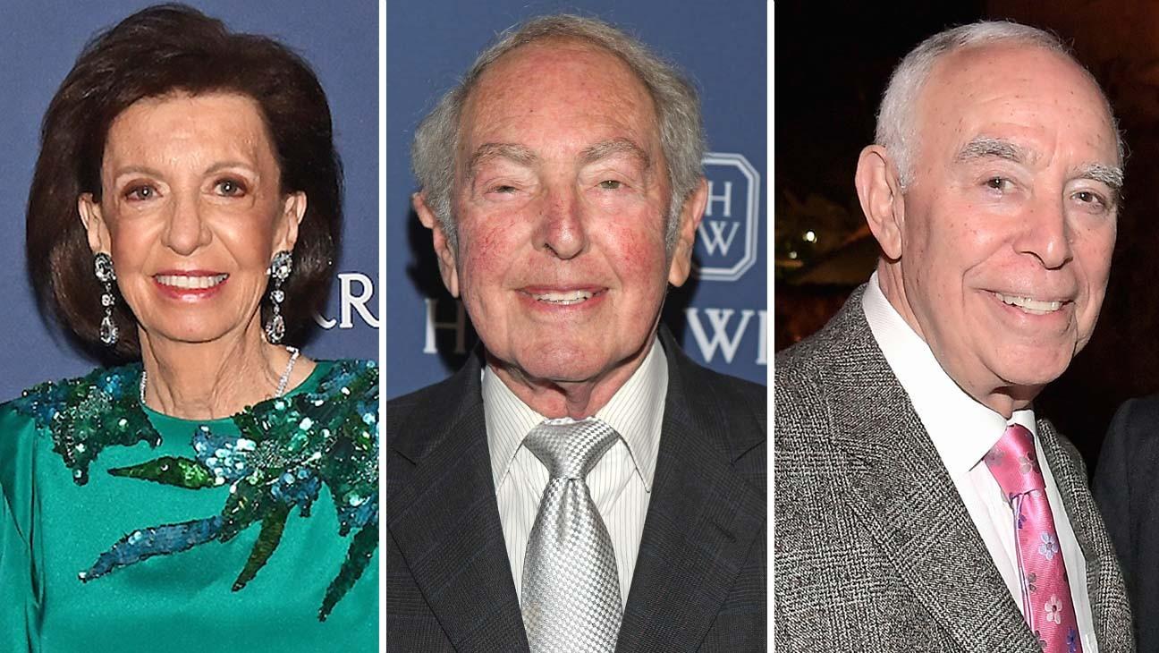 Vicki Reynolds, Paul Selwyn und Dick Rosenzweig