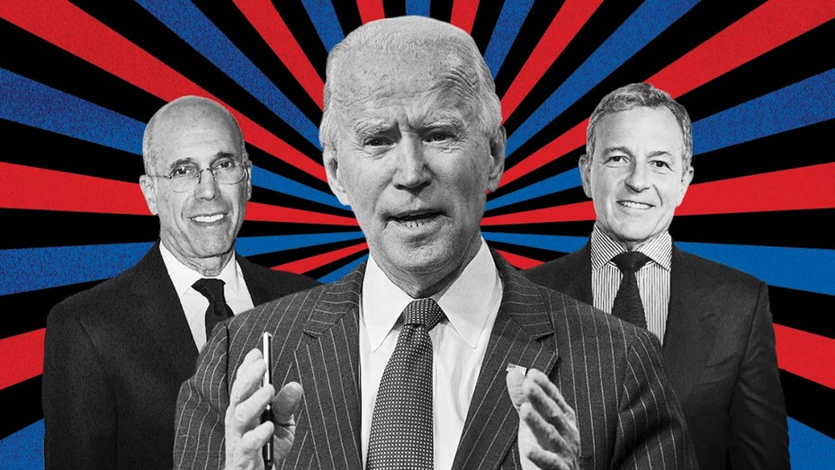 Hollywood Power Brokers Eyed for Biden Ambassador Roles