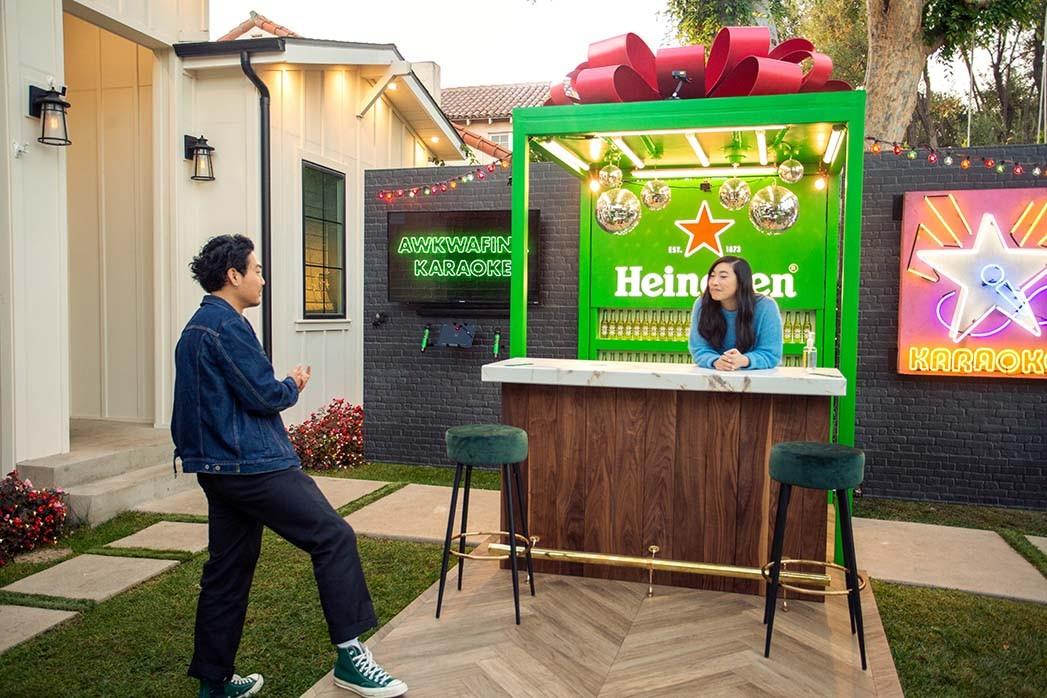 Awkwafina und Partnerschaft mit Heineken