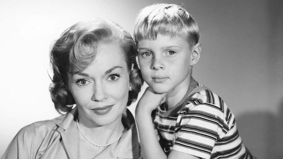 Gloria Henry and Jay North in Dennis the Menace (CBS) TV Series.