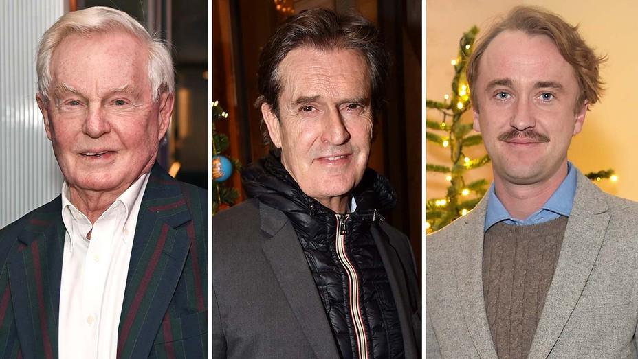 Derek Jacobi, Rupert Everett and Tom Felton