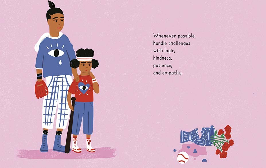 An illustration from John Cena's children's book 'Do Your Best Every Day'