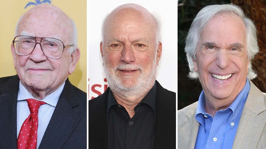 Ed Asner, James Burrows, Henry Winkler