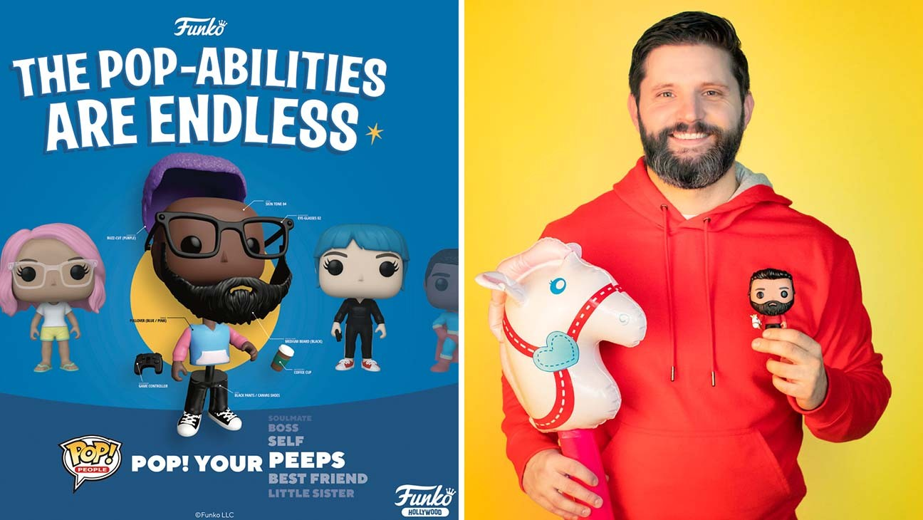 Funko Launches Build-Your-Own, Personalized Figurines with Pop! People