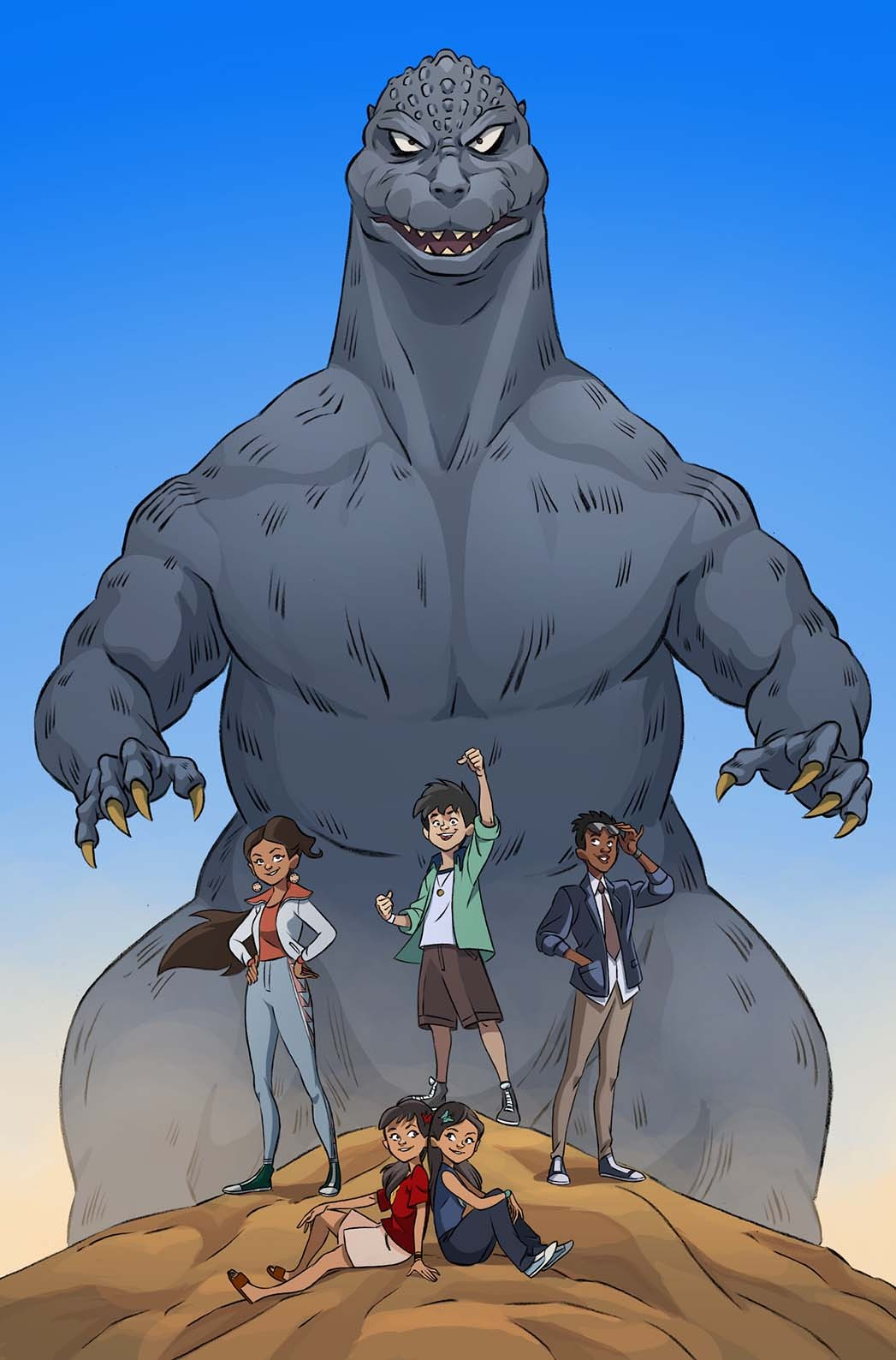 IDW Godzilla Announcement