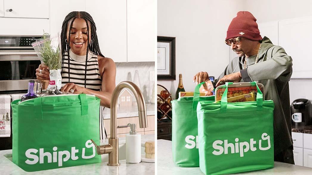 Gabrielle Union & Snoop -Shipt