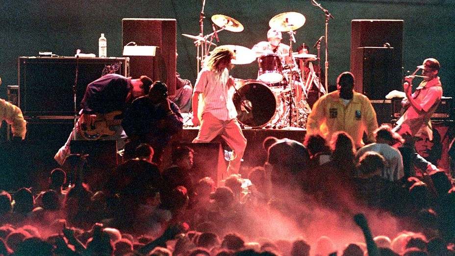 Rage Against The Machine in Concert