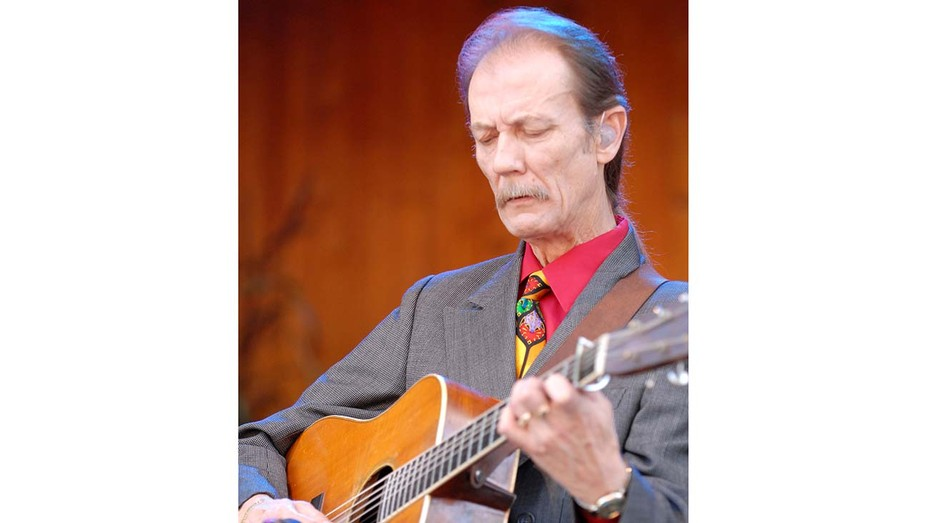 Tony Rice during The 34th Annual Telluride Bluegrass Festival