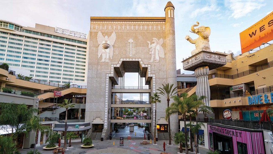 The Babylon Court at Hollywood & Highland is set for a redesign.