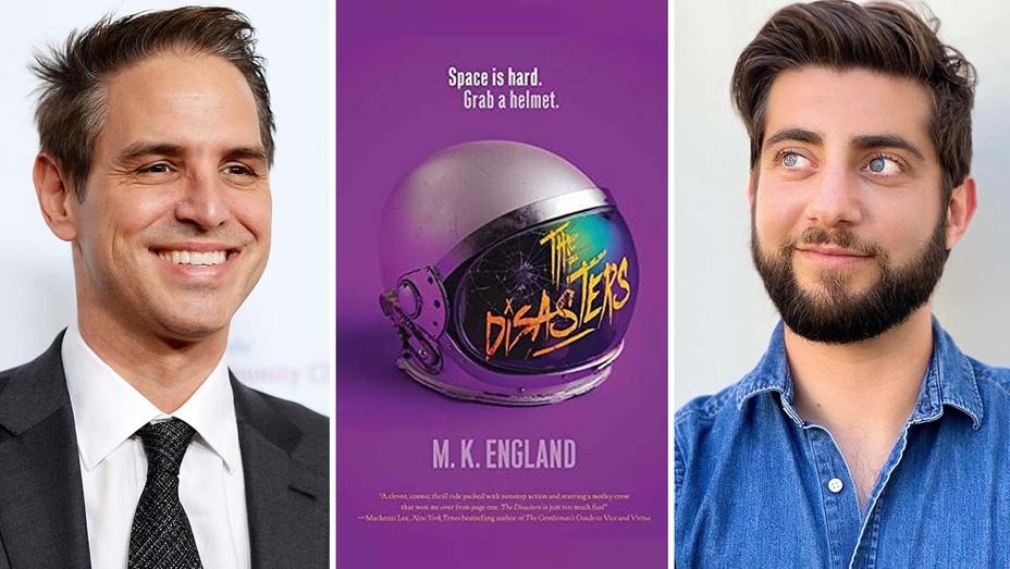 Greg Berlanti,The Disasters Book Cover and Derek Simon