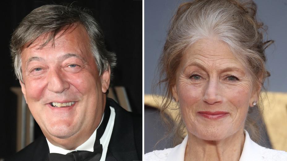 Stephen Fry and Geraldine James