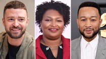 Justin Timberlake, John Legend Perform at Rock the Runoff to Raise Funds for Stacey Abrams Voting Org