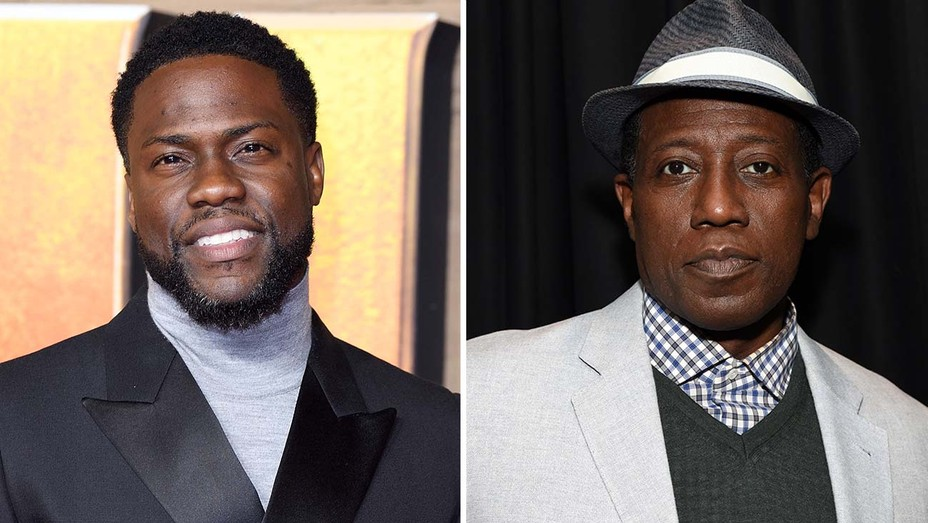 Kevin Hart and Wesley Snipes