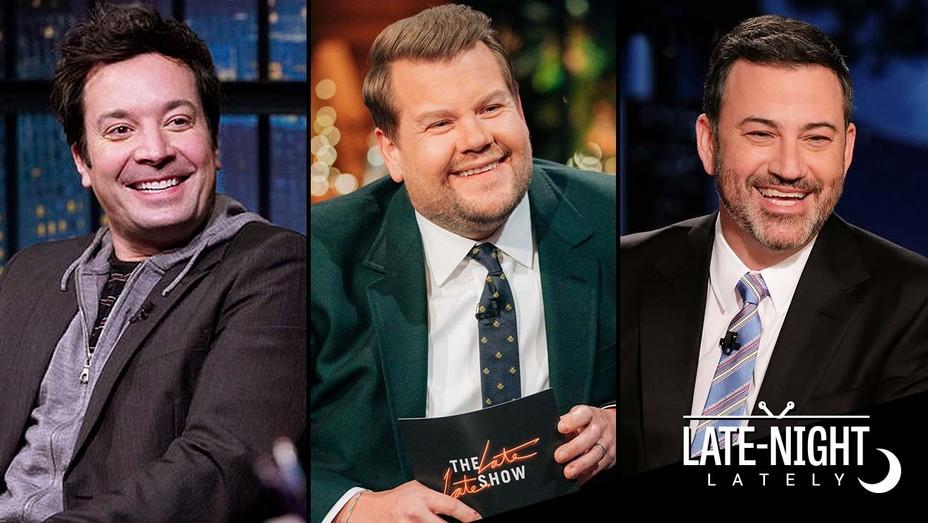 Late Night Lately - Jimmy Fallon, James Corden, Jimmy Kimmel