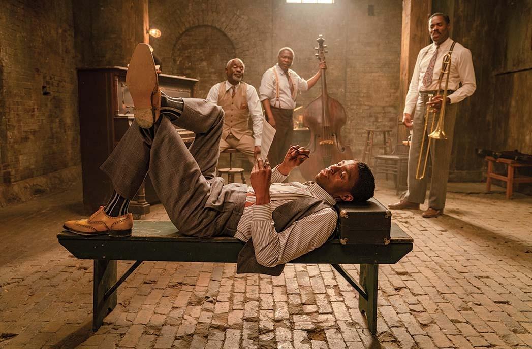 Boseman's final film role was in Ma Rainey's Black Bottom, streaming on Netflix beginning Dec. 18.