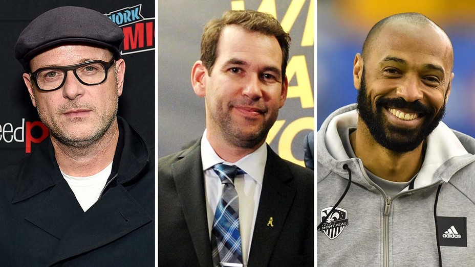 Matthew Vaughn, Doug Ellin and Thierry Henry