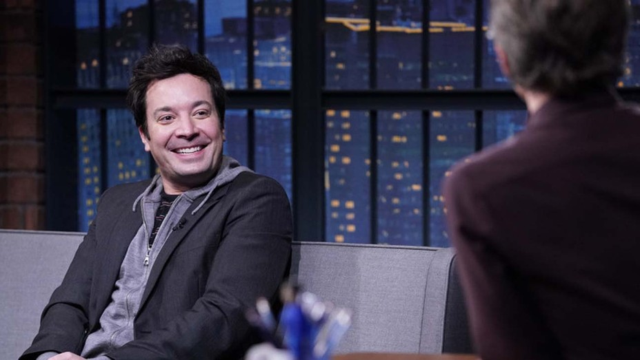 Jimmy Fallon, during an interview with host Seth Meyers