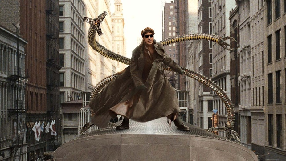Alfred Molina (doctor octopus) in 2004's Spider-Man 2