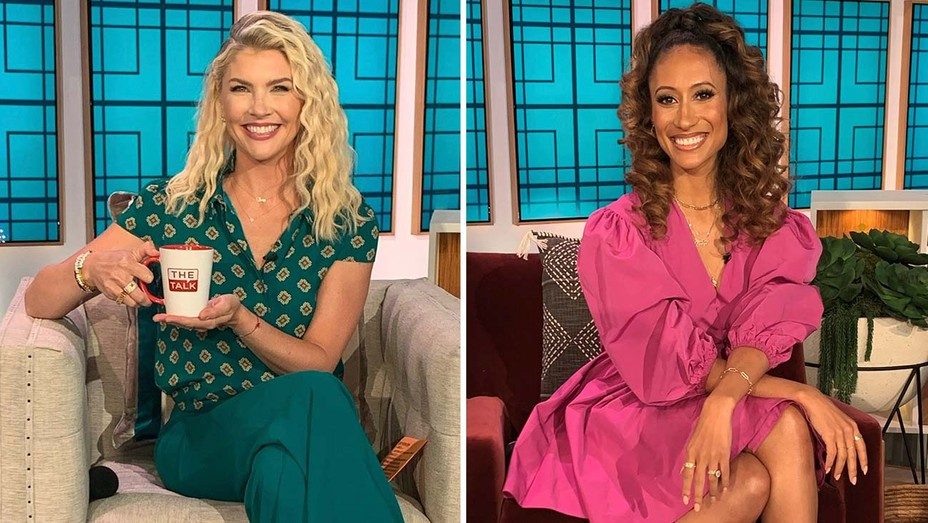 THE TALK - AMANDA KLOOTS AND ELAINE WELTEROTH
