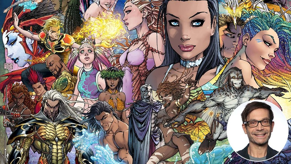 The TurnerVerse - Aspen Comics and inset of David Maisel
